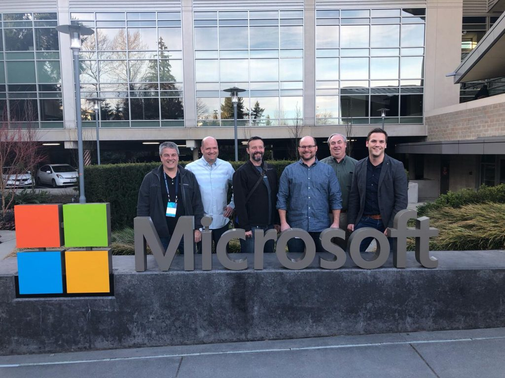 First moment at Microsoft Campus, Redmond – building 92 after the FSLogix Acquisition happened.