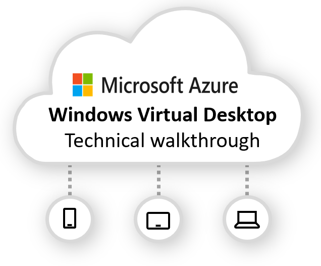 Windows Virtual Desktop technical walkthrough, including
