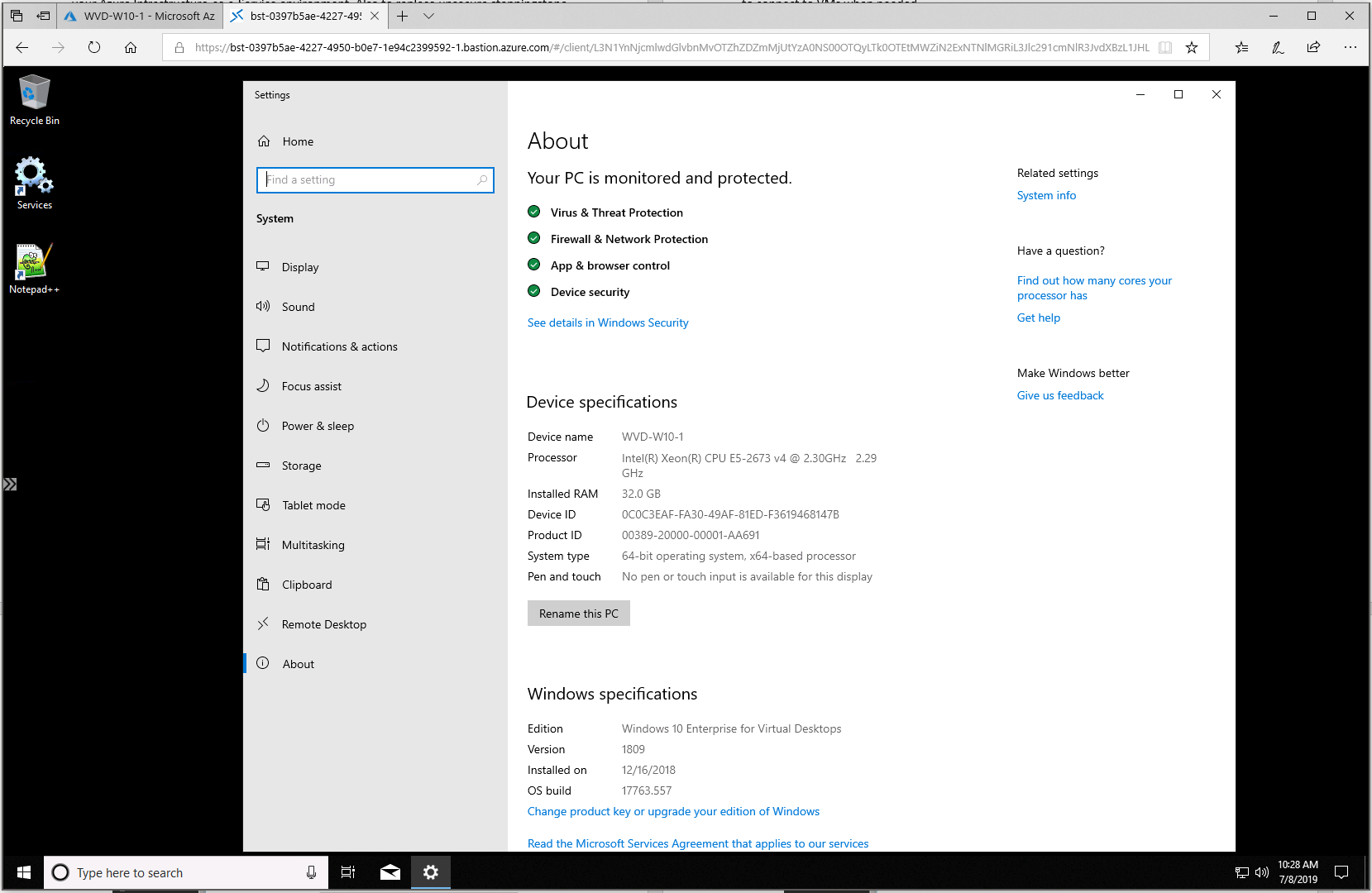 Improve Security! Learn here how to Manage Windows Virtual