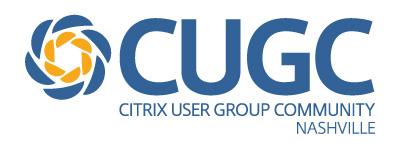 Citrix User Group Nashville – Nashville, USA