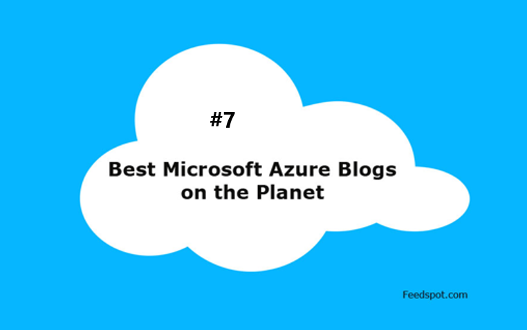 Great news. I'm listed at #7 this year in the top 50 Microsoft Azure Blogs and Websites To Follow in 2020.