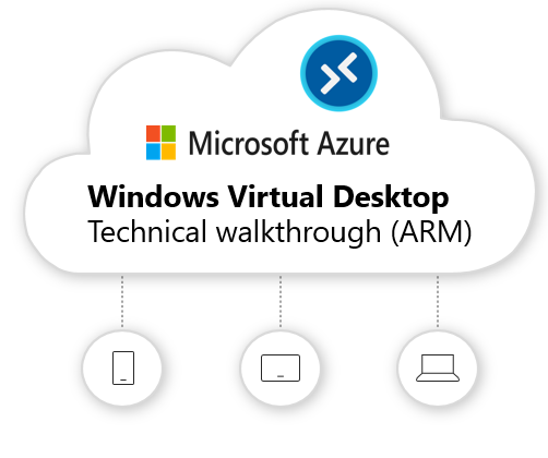 Windows Virtual Desktop technical (ARM-based model) deployment walkthrough. It covers all you need to know and beyond!