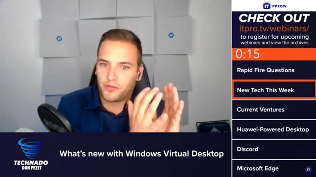 ITPro.TV – Technado, Ep. 159: Microsoft's Christiaan Brinkhoff – What's new with Windows Virtual Desktop