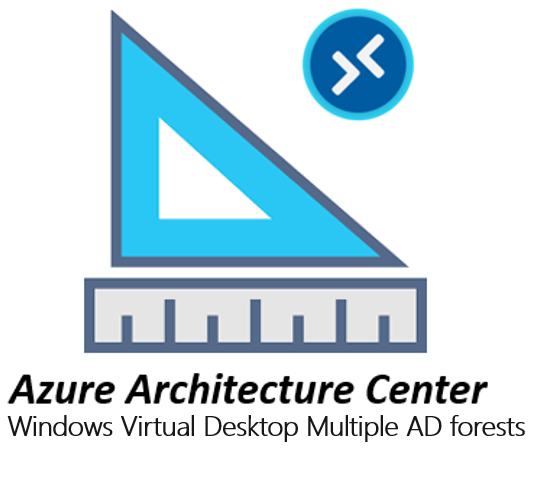 Azure Architecture Center – Multiple AD forests architecture with Windows Virtual Desktop