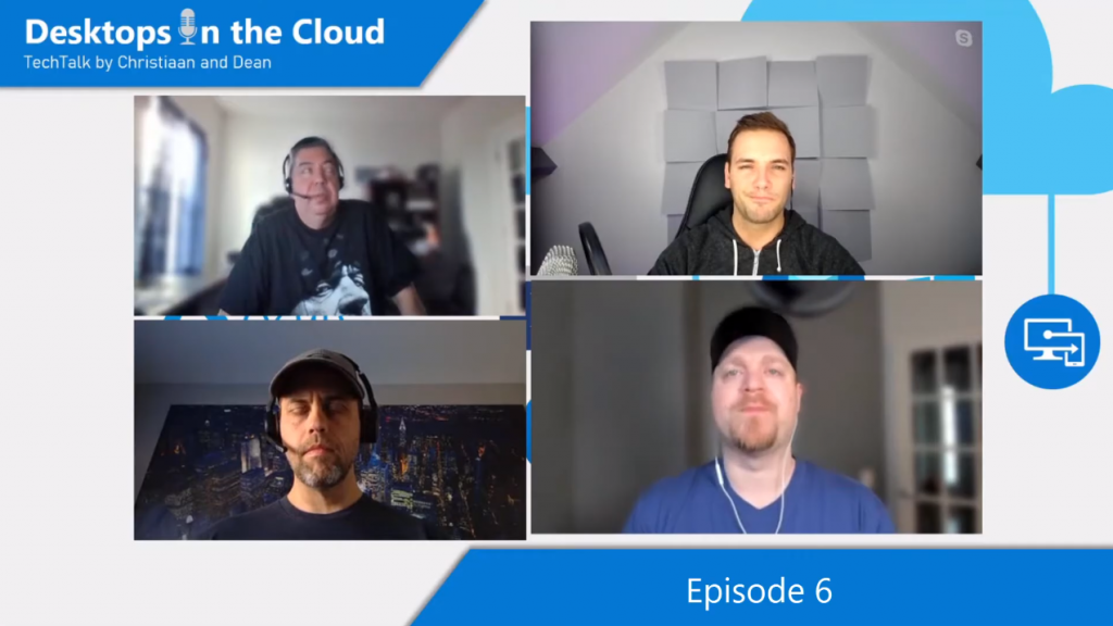Desktops in the Cloud episode 6: Performance Optimizations for Windows Virtual Desktop with Robert and Tim (aka VDI Guys)