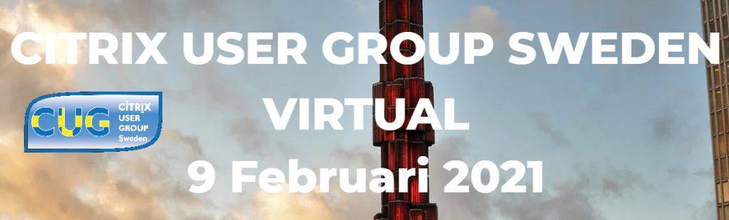 Citrix User Group Sweden
