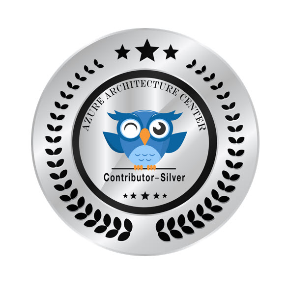 Earned the Azure Architecture Center Contributor – Silver FY20 badge for my contributions on FSLogix best practices and Windows Virtual Desktop for the Enterprise