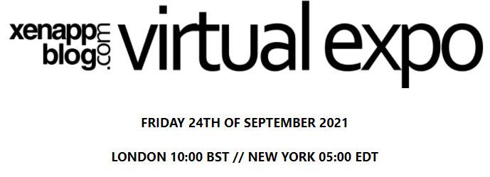 xenappblog.com – Virtual Expo 2021