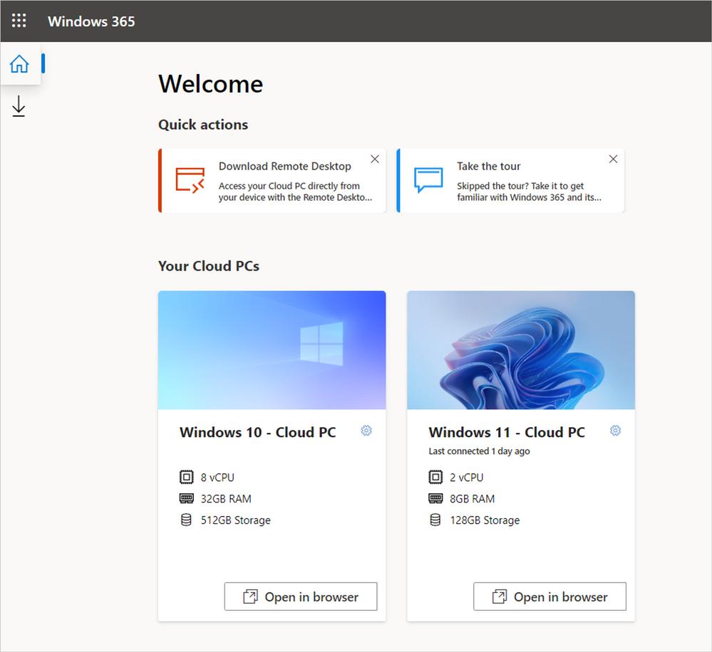Windows 365 Enterprise now supports Windows 11